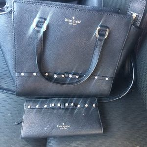 Kate Spade puede and wallet